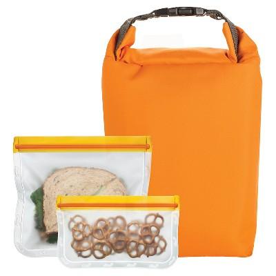 Blue Avocado Orange Lunch Pack (3 piece)