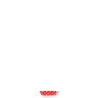 Toddler Girls' Seashells Printed Raglan Short Sleeve Rash Guard With Polka-Dot Bottom Two-Piece Set