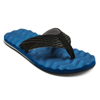 Men's Ronnie Flip Flop Sandals - Navy XL (13)
