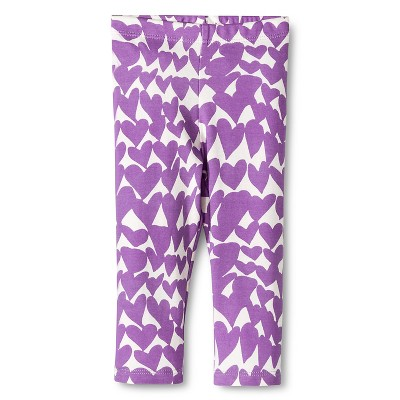 Baby Nay Groovy Hearts Lounge Pants - Lilac 3 M