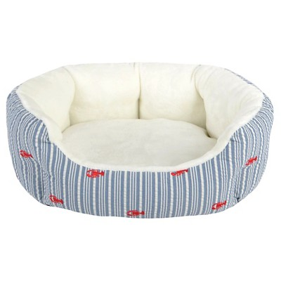 Oval Stripe Pet Bed S - Boots & Barkley™