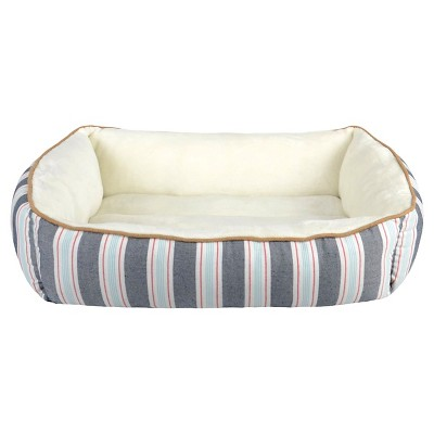 Rectangle Stripe Pet Bed M - Boots & Barkley™