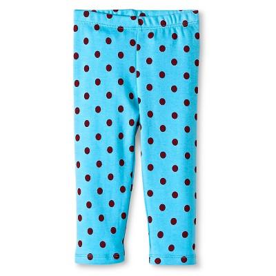 Baby Nay Twin Dots Lounge Pants - Aqua 3 M