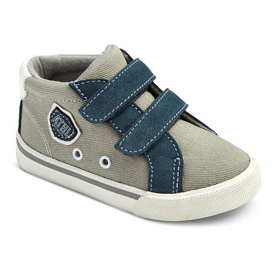 Toddler Boys' Hardy Mid Top Sneaker - Grey 6