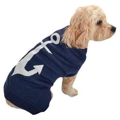 Pet Apparel Anchor Sweater XS - Boots & Barkley™