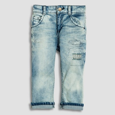 Toddler Boys' Jeans - Blue 12M