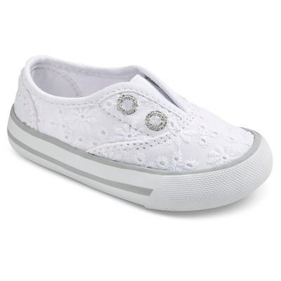 Infant Girls' Genuine Kids Amber Eyelet Sneaker - White 2
