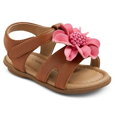 Infant Girls' Genuine Kids from OshKosh™ Aggy Sandals - Brown 2