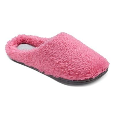 Women's dluxe by dearfoams® Tilly Slide Slippers - Pink M