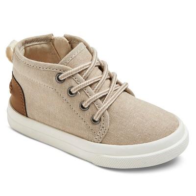 Toddler Boys' Hampton Mid Top Sneaker - Tan 5
