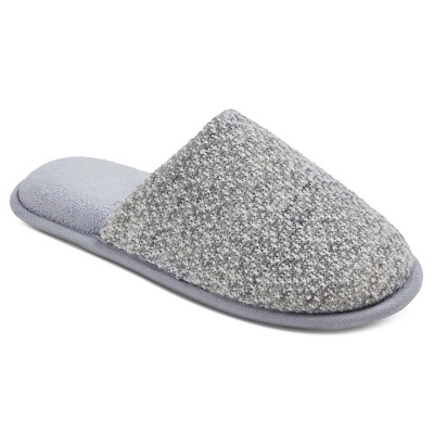 Women's dluxe by dearfoams® Marin Slide Slippers - Grey M