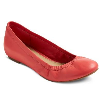Imn Shoes Adult Ballet Flats Emma Merona Coral 8