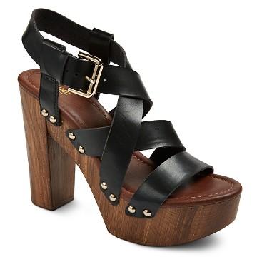 black platform shoes target