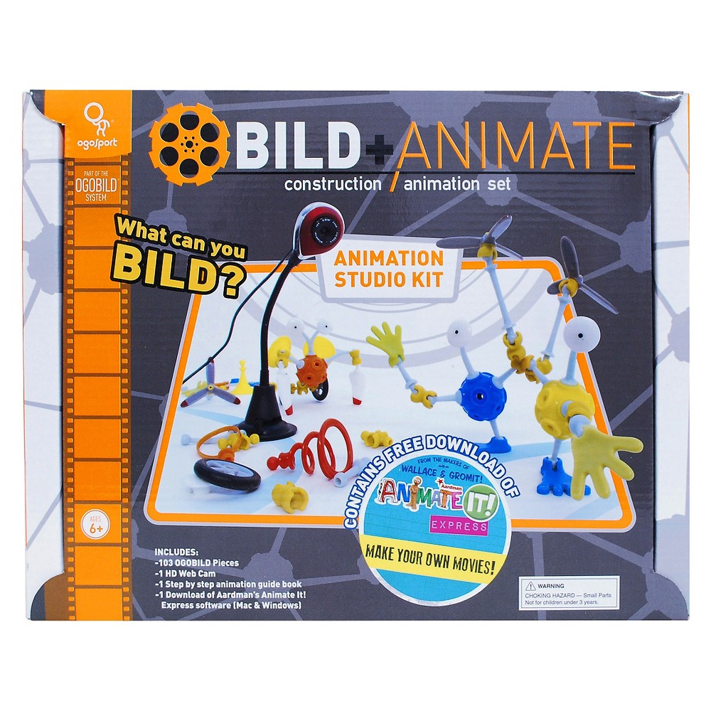 OgoBILD Animate It Studio Kit
