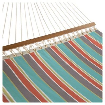 Key West Single Layer Hammock -  Stripe Blue
