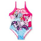My Little Pony Toddler Girls' 1-Piece Swimsuit - Pink