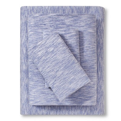 Jersey Sheet Set Sapphire (Full) - Room Essentials™
