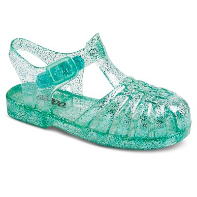 Toddler Girls' Josephine Jelly Shoes - Turquoise S