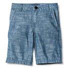 Boys' Flat Front Short Blue Chambray 4 - Cherokee®