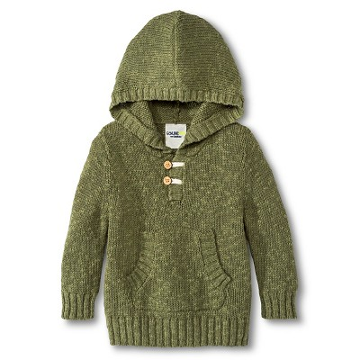 Toddler Boys' Pullover Sweater - Healthy Green 18 M
