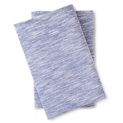 Jersey Pillowcase Set Sapphire (Standard) - Room Essentials™