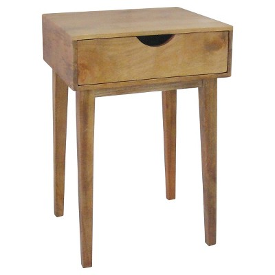 Threshold™ Mid-Century One-Drawer Accent Table