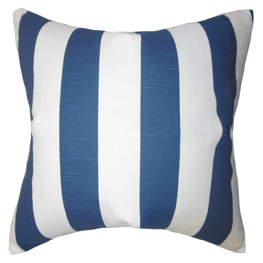 the pillow collection wide stripe decorative pillow