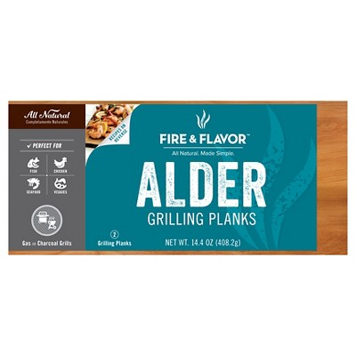 Fire and Flavor Alder Grilling Planks