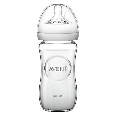 Avent Glass Baby Bottle Clear 8oz