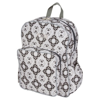The Bumble Collection Getaway Backpack Diaper Bag-Majestic Slate