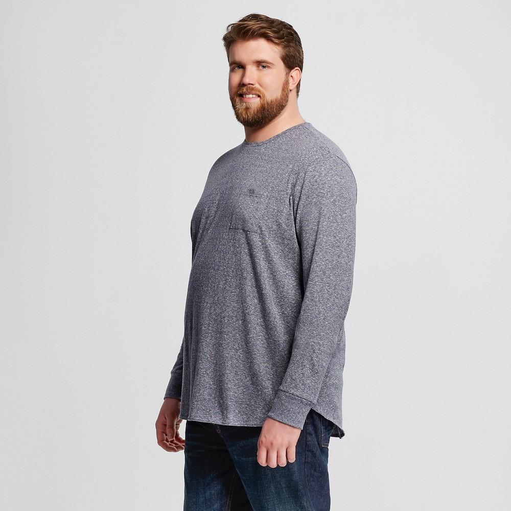 Men 39 s big tall long sleeve t shirt mossimo supply co for Mens long sleeve t shirts tall