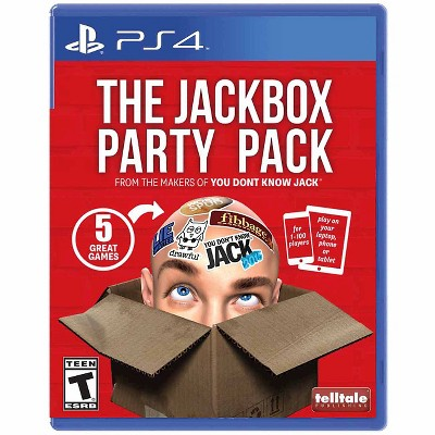The Jackbox Party Pack (PlayStation 4)