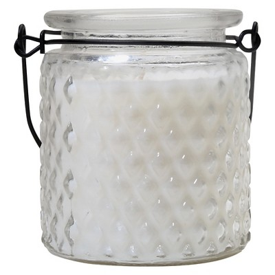 Citronella Candle Glass Jar - Lemon