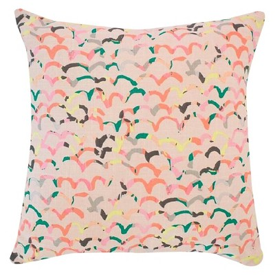 Scattered Scallop Throw Pillow Blush/Pale Pink - Oh Joy!