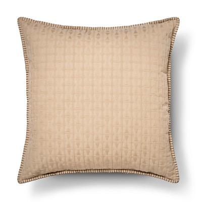 Oversized Texture Throw Pillow - Aqua Tan – Threshold™