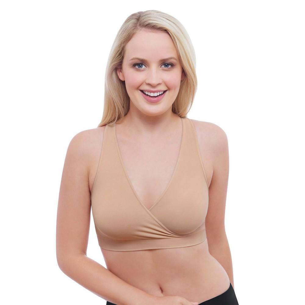 Medela Women's Nursing Sleep Bra Nude S, Size: Small, Beige Nude