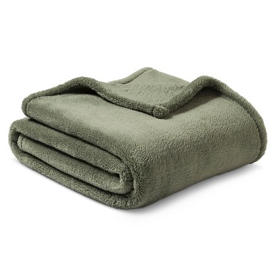 Threshold™ ™ Fuzzy Throw - Sage Green
