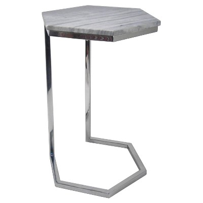 Threshold™ Hexagonal Marble Top Accent Table