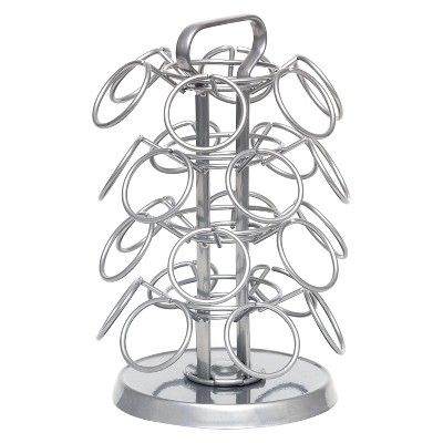 Lipper International Revolving Coffee Carousel - 24 Single Setve Pods