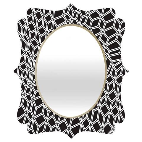 Decorative Wall Mirror Black DENY Designs Target