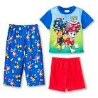 Toddler Boys' Paw Patrol 3Pc Sleepwear Set - Blue 2T
