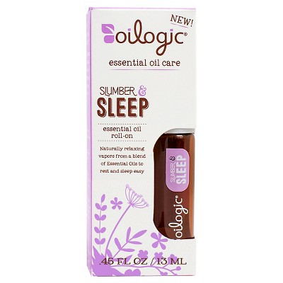 Oilogic Slumber & Sleep Essential Oil Roll-on - 0.30 oz (9 ml)