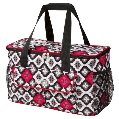 The Bumble Collection Down By The Shore Cooler Bag-Royal Ruby