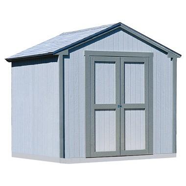 Kingston 8x8' Wood Storage Shed Kit