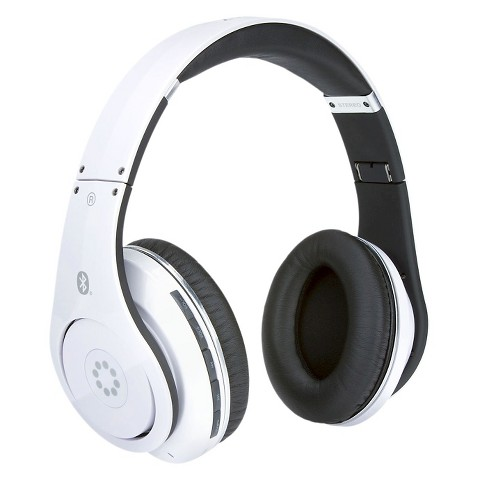 memorex bluetooth headphones white mhbt0545w target. Black Bedroom Furniture Sets. Home Design Ideas