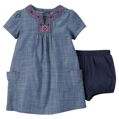 Just One You™Made by Carter's®  Newborn Girls' Dress Set - Blue 3M