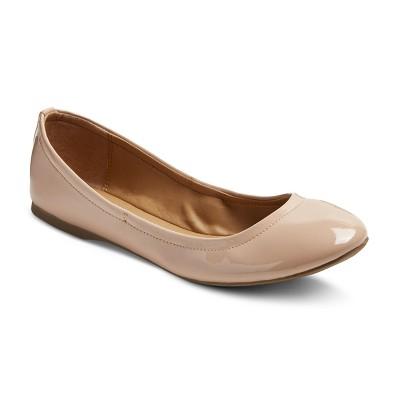 Women's Ona Scrunch Ballet Flat - Blush 8