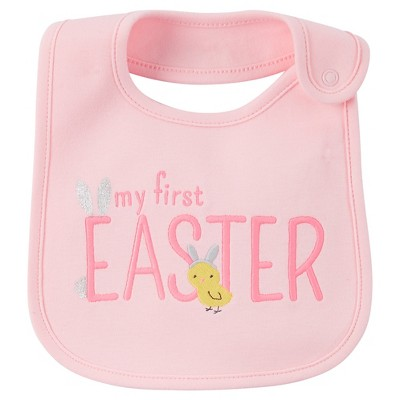 Just One You™Made by Carter's® My First Easter Bib Pink