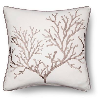 """Pismo Beach Pillow (18""""x18"""") Brown - homthreads™"""