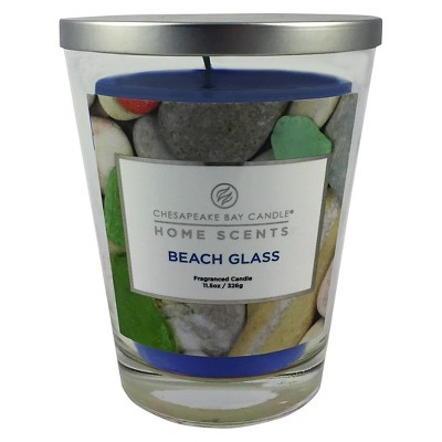 Home Scents™ Glass Tapered Jar Candle Beach Glass - 11.5oz